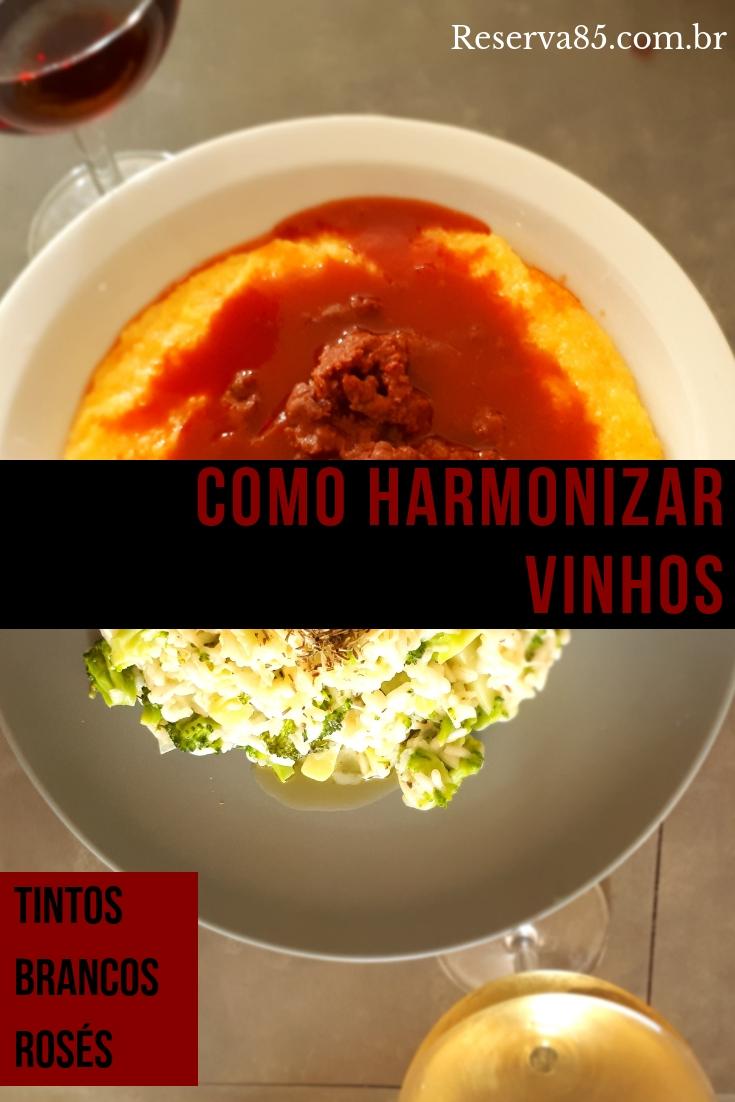 Harmonização de vinhos | Reserva85 - Tudo sobre vinho e